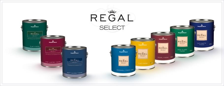 Benjamin Moore Regal Select Waterborne Paint Swift Supply