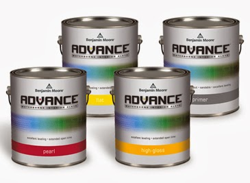 Benjamin Moore Advance 174 Waterborne Interior Alkyd Paint